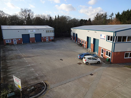 Belbins Industrial Estate, Romsey