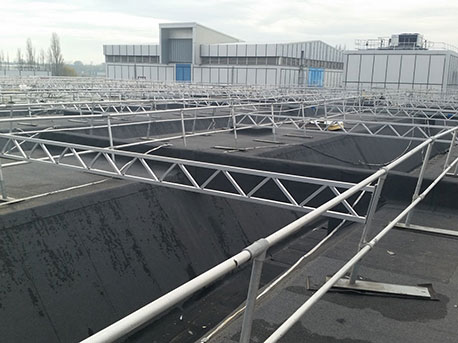 Factory Roof Covering Replacement Project