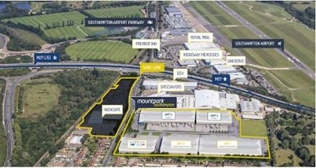 Mount Park, Southampton & Chandlers Ford Industrial Estate, Eastleigh